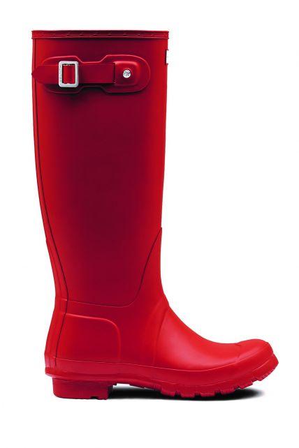Hunter---Regenstiefel-für-Damen---Original-Tall---Rot