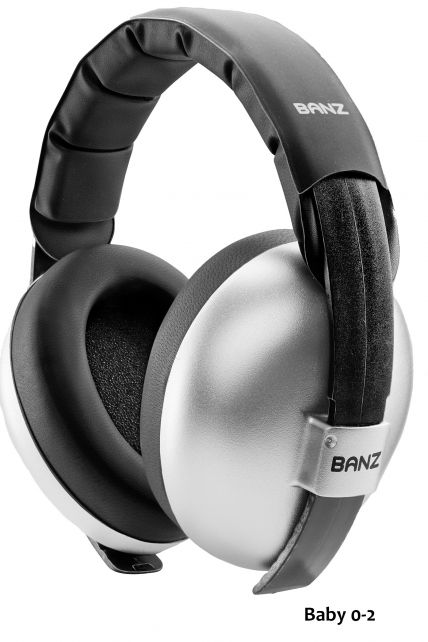 Banz---Geräuschreduzierende-Ohrenschützer-für-Babys---Silber