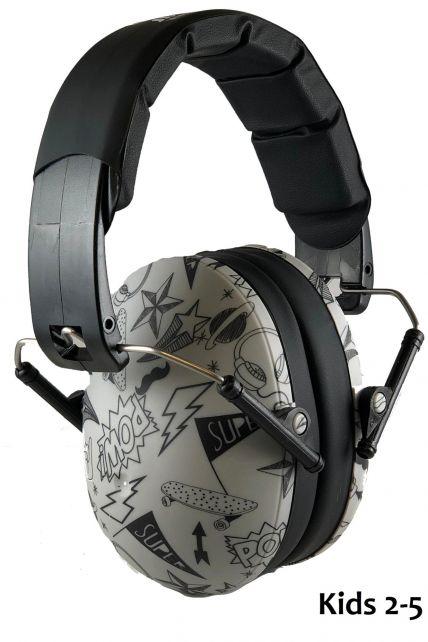 Banz---Geräuschreduzierende-Ohrenschützer-für-Kinder---Grafitti